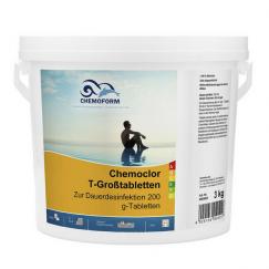 Lėtai tirpstantis chloras Chemoclor T-Gross | 3 kg