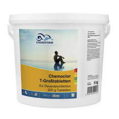 Lėtai tirpstantis chloras Chemoclor T-Gross | 5 kg