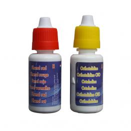 pH ir Cl testavimo lašeliai
