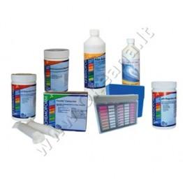 Baseinų priežiūros MINI chemijos komplektas be chloro